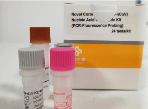 新型冠状病毒2019-nCoV核酸检测试剂盒(荧光PCR法)
